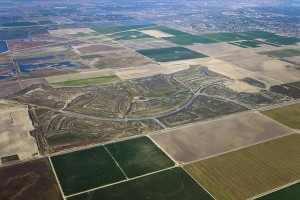 An aerial photograph of the McAllister Ranch property, courtesy of SunCal.
