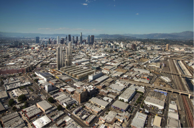 Skyline view. Image Courtesy of Los Angeles Department of City Planning