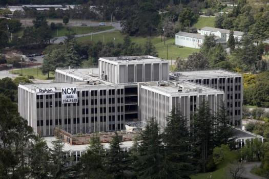 The Oak Knoll Naval Hospital is shown on Thursday, April 7, 2011 in Oakland, Calif. The hospital is scheduled for demolition on Friday, April 8.(Jane Tyska/Staff)